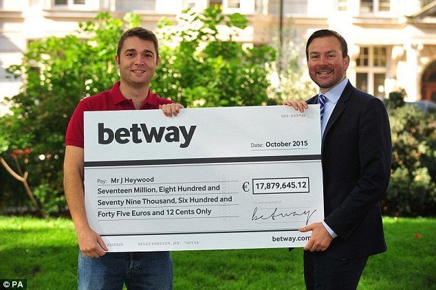 UK Betway casino jackpot